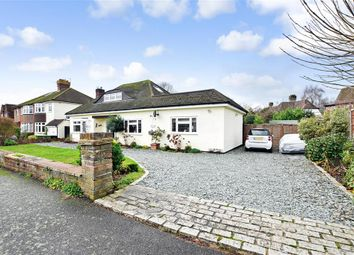 Thumbnail 3 bed bungalow for sale in Hillside Gardens, Brockham, Betchworth, Surrey