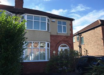 Thumbnail 3 bed semi-detached house to rent in Rudyard Grove, Heaton Chapel, Stockport