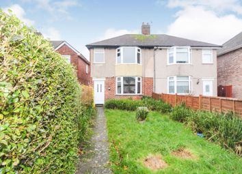 Thumbnail 3 bed semi-detached bungalow for sale in Quilletts Close, Coventry