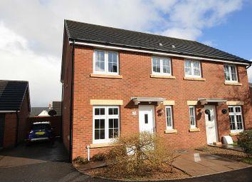 Thumbnail 3 bed semi-detached house for sale in Bryn Celyn, Llanharry, Pontyclun, Rhondda, Cynon, Taff.