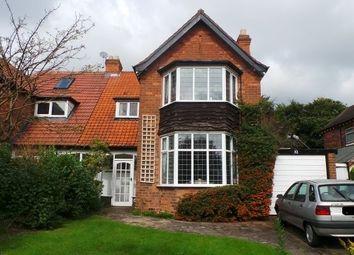 Thumbnail 3 bed semi-detached house for sale in Grange Road, Erdington, Birmingham