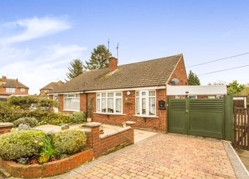 Thumbnail 2 bed semi-detached bungalow for sale in Coleridge Drive, Enderby, Leicester
