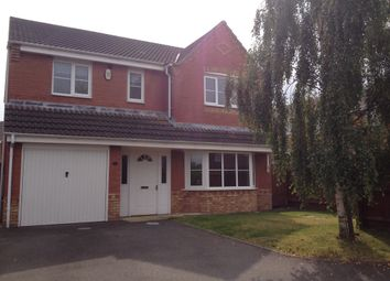 Thumbnail 4 bed detached house to rent in Chichester Close, Rugeley