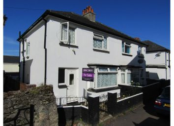 Thumbnail 3 bed semi-detached house for sale in Church Street, Torquay