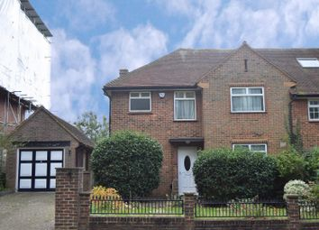 Thumbnail 3 bed semi-detached house for sale in Lake Road, London