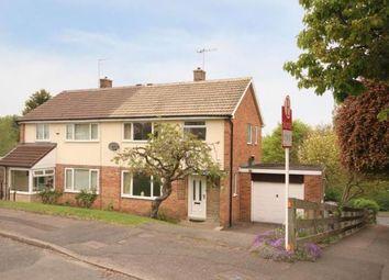 Thumbnail Semi-detached house for sale in Crofton Rise, Dronfield, Derbyshire