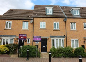 Thumbnail 4 bed terraced house for sale in Oulton Road, Rugby