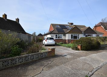 Thumbnail 3 bed semi-detached bungalow for sale in Castle Drive, Pevensey Bay