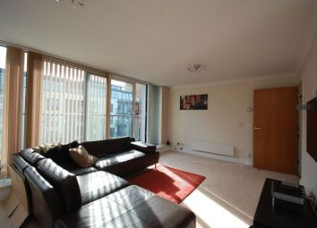 Thumbnail 2 bedroom flat to rent in Boardwalk Place, London