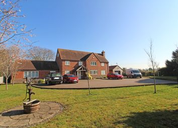 Thumbnail 6 bed detached house for sale in Blewbury Road, East Hagbourne, Didcot