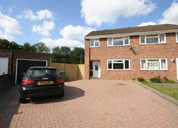 Thumbnail 3 bed semi-detached house to rent in Severn Close, Henwick, Thatcham