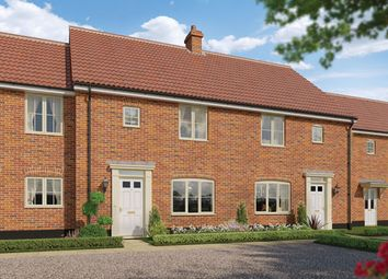 Thumbnail 3 bedroom terraced house for sale in The Daphne, Station Road, Framlingham, Suffolk