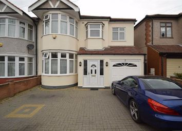 Thumbnail 5 bed end terrace house for sale in Fowey Avenue, Redbridge, Essex