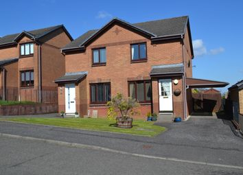 Thumbnail 2 bedroom semi-detached house for sale in Cathkin Crecent, Carrickstone, Cumbernauld