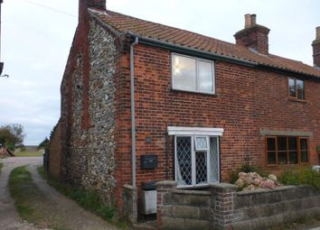 Thumbnail 2 bedroom terraced house for sale in The Street, Corton, Lowestoft, Suffolk