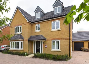 Thumbnail 5 bed detached house for sale in Lilburn Avenue, Royston