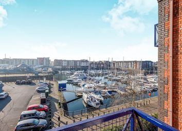 Thumbnail 2 bedroom flat for sale in Mannheim Quay, Maritime Quarter, Swansea
