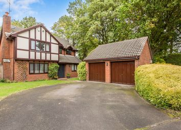 Thumbnail 4 bed detached house for sale in Crosslands, Congleton