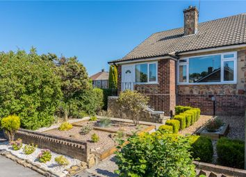 Thumbnail 3 bed semi-detached bungalow for sale in Meadow Park Crescent, Pudsey, Leeds, West Yorkshire