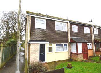 Thumbnail 3 bedroom end terrace house to rent in Northolt Avenue, Bishop's Stortford