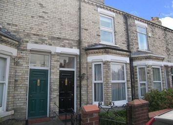 Thumbnail 3 bed terraced house to rent in Alma Terrace, York