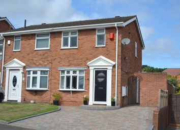 Thumbnail 2 bed semi-detached house for sale in St Brades Close, Tividale