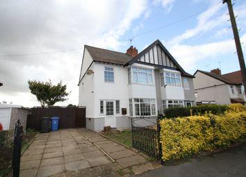 Thumbnail 3 bedroom semi-detached house for sale in Grange Road, Alvaston, Derby