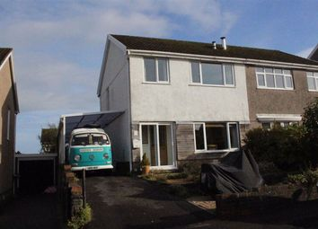 Thumbnail 3 bed semi-detached house for sale in Sardis Close, Waunarlwydd, Swansea