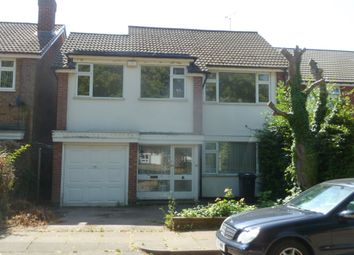 Thumbnail 4 bed detached house to rent in Gifford Close, Evington Village, Leicester
