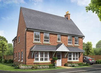 "Thumbnail 4 bedroom detached house for sale in ""Alnwick"" at Beggars Lane, Leicester Forest East, Leicester"