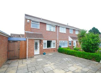 Thumbnail 3 bedroom end terrace house for sale in Redhoave Road, Canford Heath, Poole