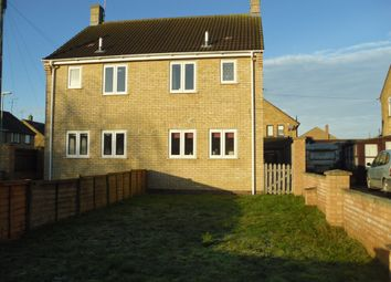 Thumbnail 2 bed terraced house for sale in Chestnut Crescent, Whittlesey