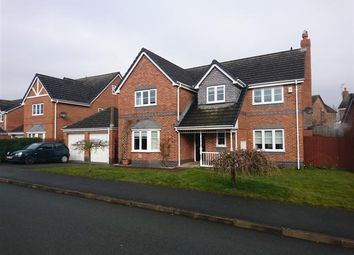 Thumbnail 4 bed detached house for sale in Swain Close, Wem