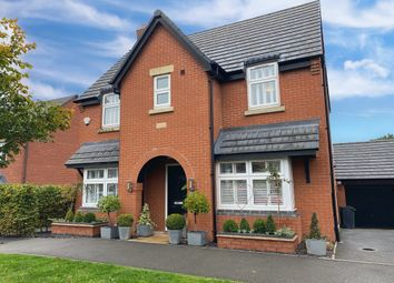 Thumbnail 3 bed detached house for sale in Saxon Drive, Rothley