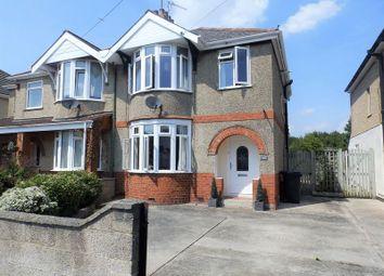 Thumbnail 3 bed semi-detached house for sale in Wheeler Avenue, Swindon