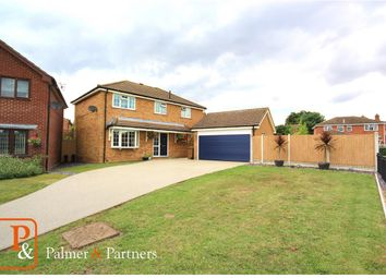Thumbnail 4 bed detached house for sale in Lionel Hurst Close, Great Cornard, Sudbury