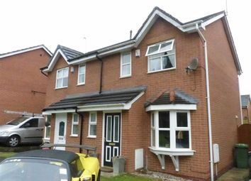 Thumbnail 2 bed semi-detached house for sale in Hollybank Close, Northwich, Cheshire