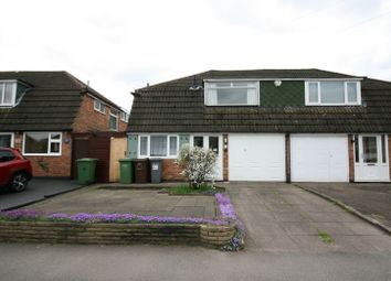 Thumbnail 3 bed semi-detached house to rent in Gaydon Road, Solihull