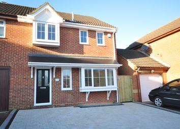 Thumbnail 3 bed semi-detached house to rent in Morland Drive, Strood, Rochester