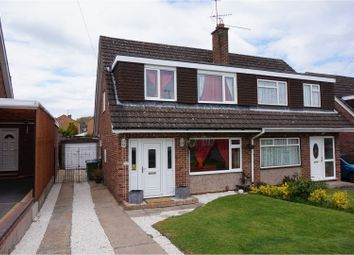 Thumbnail 3 bed semi-detached house for sale in St. Martins Avenue, Studley