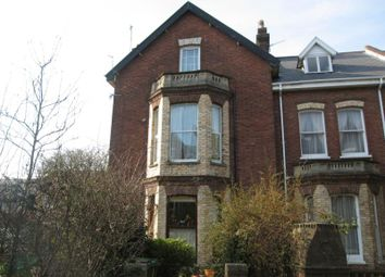 Thumbnail 2 bed flat to rent in Old Tiverton Road, St James, Exeter