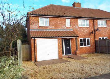 Thumbnail 3 bedroom semi-detached house to rent in King George Road, Hempton, Fakenham
