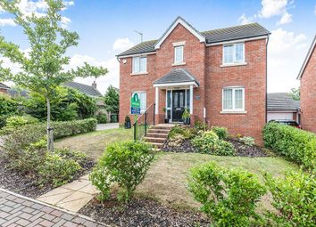 Thumbnail 4 bed detached house for sale in Orchard Close, Fernhill Heath, Worcester