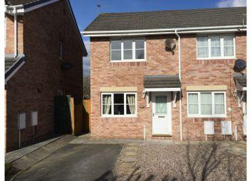 Thumbnail 2 bedroom semi-detached house for sale in Llys Eglwys, Broadlands, Bridgend