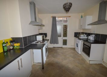 Thumbnail 6 bed terraced house to rent in Saxby Street, Leicester