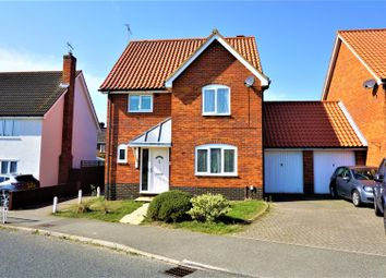 Thumbnail 3 bed link-detached house for sale in Bixley Drive, Rushmere St. Andrew, Ipswich