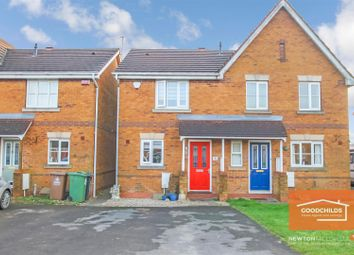 Thumbnail 2 bed semi-detached house to rent in Sandy Grove, Brownhills, Walsall