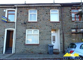 Thumbnail 3 bedroom terraced house to rent in Church Street, Ynysybwl, Pontypridd