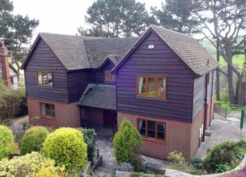 Thumbnail 4 bed detached house for sale in Valley Road, Harmans Cross, Swanage