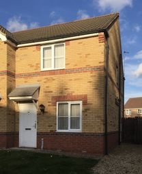 Thumbnail 2 bed semi-detached house to rent in Connaught Road, Scunthorpe